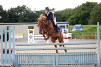 Class 9 - Blue Chip Pony Newcomers / Pony 1.00m (both to inc. The Pony Restricted Rider 1.00m Qualifier)