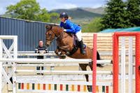 Class 7: Pony Foxhunter / 1.10m Open inc. Restricted Rider