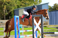 Class 4 - Blue Chip Pony Newcomers / Pony 1m Open (both inc. The Pony Restricted Rider 1m Qualifier)